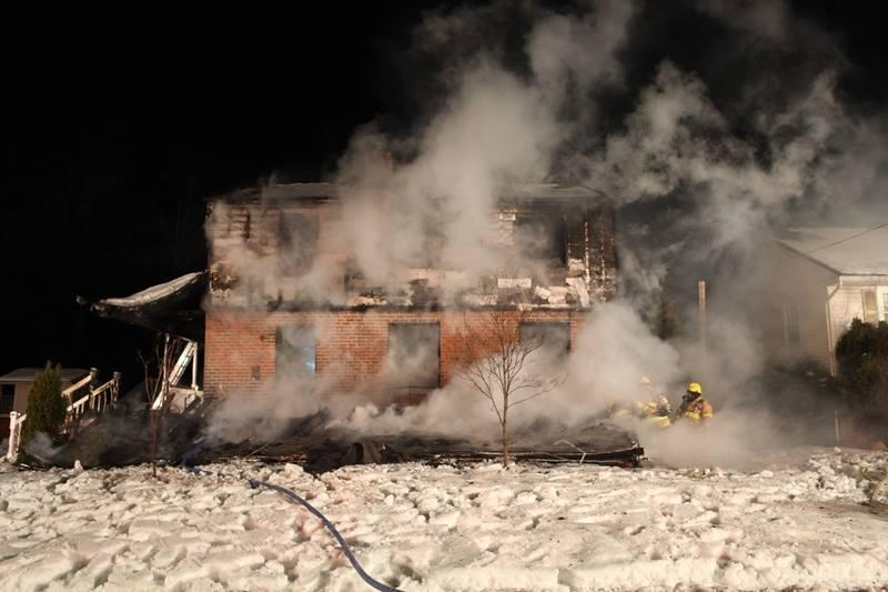 COMPANY 20 SPECIAL CALLED TO FATAL SPRINGFIELD HOUSE FIRE