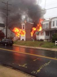 2ND ALARM IN CLIFTON HEIGHTS: 207 S. SPRINGFIELD RD.