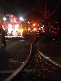 FIRST DUE BASEMENT FIRE: 289 CHESWOLD RD.